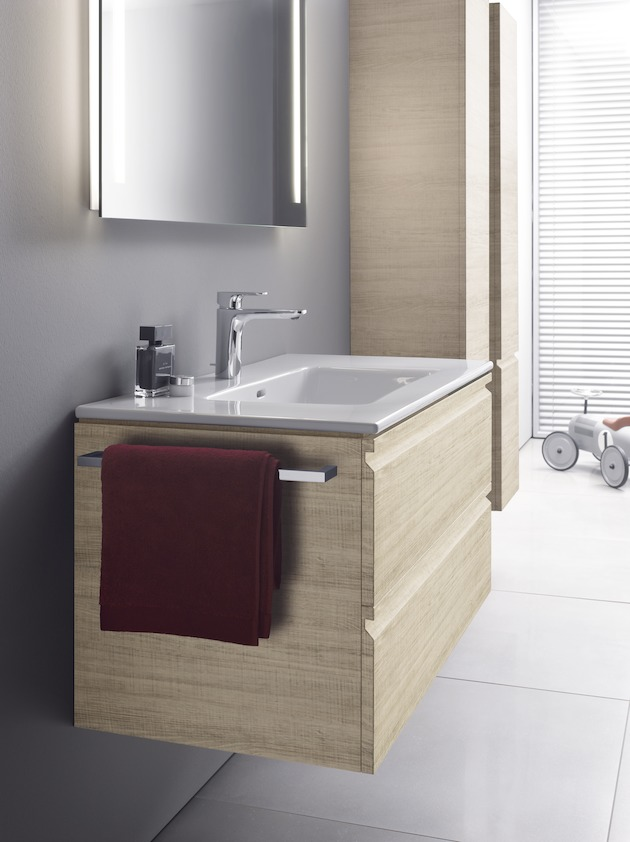 Combipack 800 Mm Washbasin Slim With Vanity Unit Pro With 2 Drawers Incl Drawer Organiser
