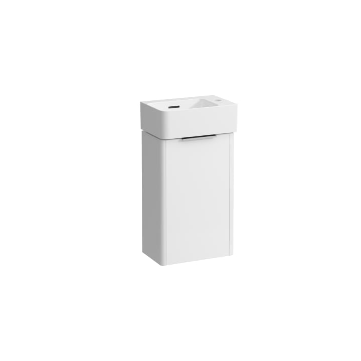 Combipack, small washbasin with vanity unit 'Base' with 1 door